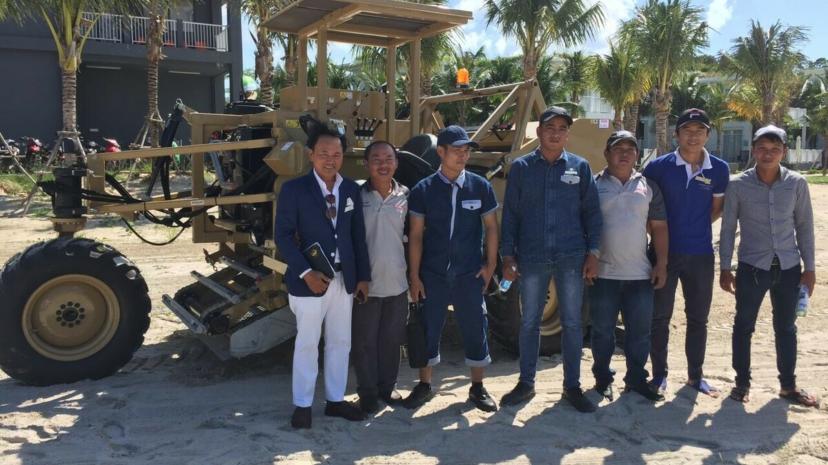 30 years of BeachTech beach cleaners: Multico